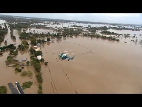 Floods create 'inland sea' in Australia