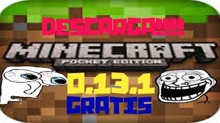 Minecraft PE 0 13 1 APK GRATIS  lMEDIAFIREl  -VaraDeEscoba25-