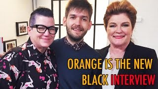 "Interviewing Kate Mulgrew & Lea DeLaria from ""Orange Is The New Black"" 