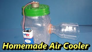 Homemade air cooler project   Easy Science Projects For Engineering   how to make cooler