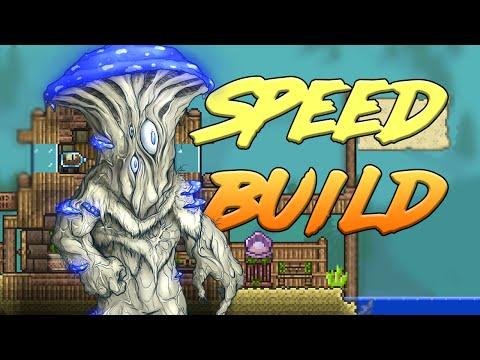 видео: Деревня НИП`ов #5 // terraria - speed build