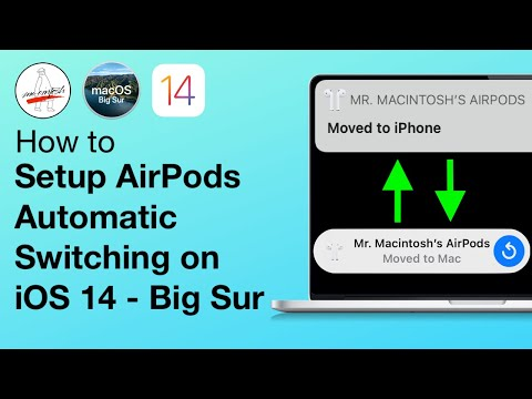 How to Setup AirPods Automatic Switching on macOS Big Sur & iOS 14! AirPods Pro
