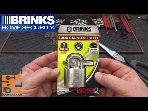 (997) Brinks 50mm Stainless Steel Padlock (662-40811)