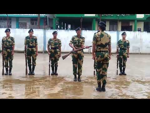 Drill by BSF girls