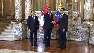Presidente de Perú recibe al embajador designado por Guaidó