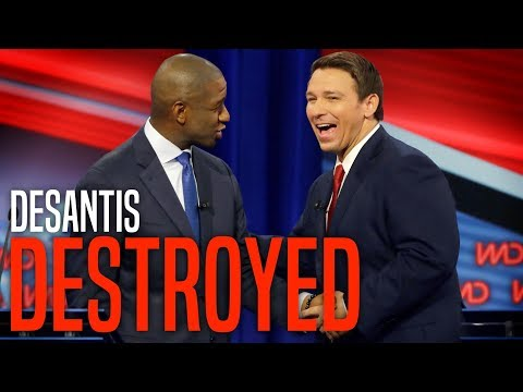 Ron DeSantis Noticeably SHOOK in Debate Against Andrew Gillum