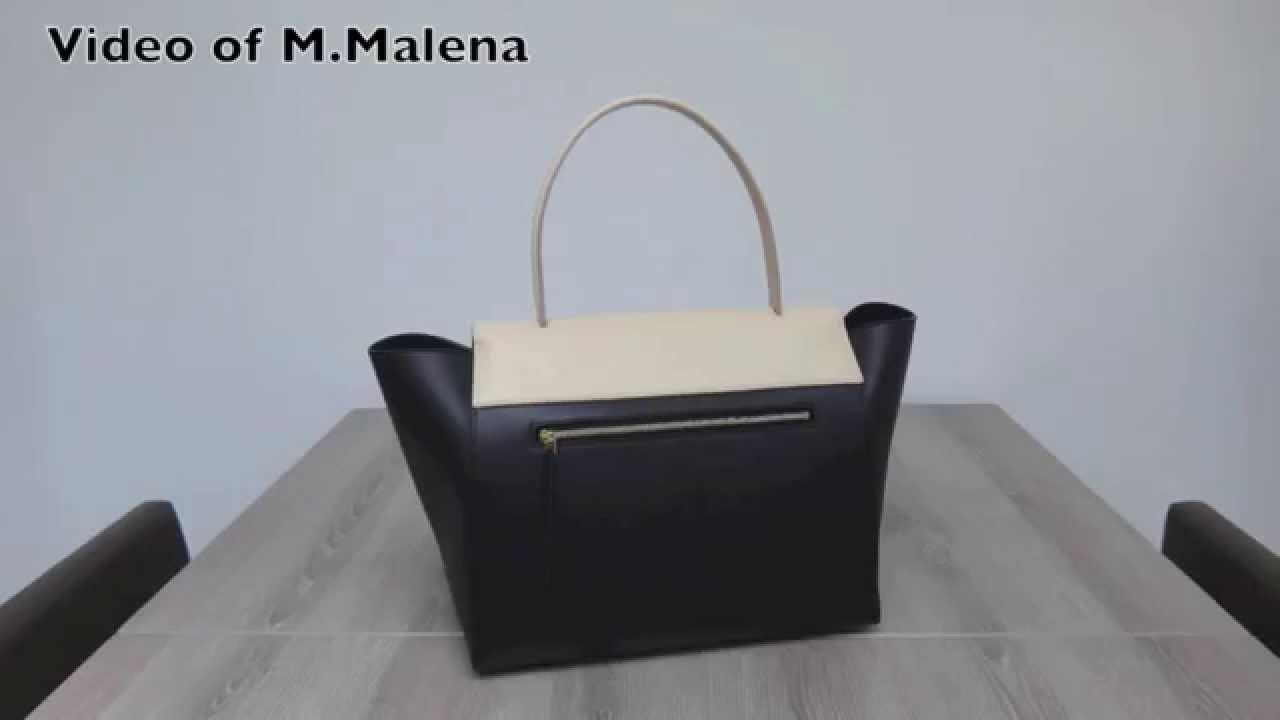 celine luggage mini tote - My Small Celine Belt bag ?? - YouTube