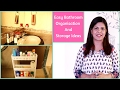 Bathroom Organization And Storage Ideas | Unfurnished Bathroom