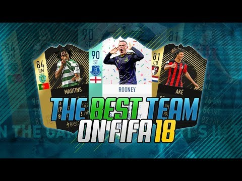 THE BEST SQUAD I'VE EVER SEEN ON FIFA 18 - FIFA 18 ULTIMATE TEAM