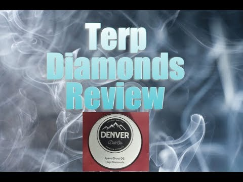 Terp Diamonds Review |THCA Crystals| Most Potent Cannabis Concentrate | Denver Dab CO