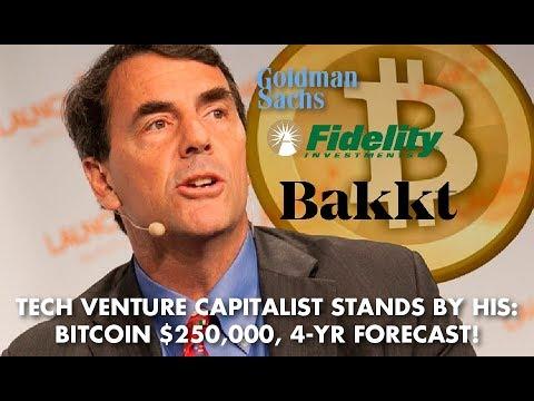 Billionaire, Tim Draper: $250,000 BITCOIN Price Target STAYS INTACT, Bear Market NORMAL!
