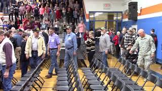 Veterans Day Celebration - Randleman High School - 11/9/18