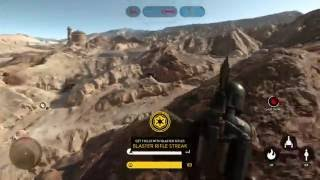 star wars battlefront rotating spawns with boba fett 113 kills 0 deaths