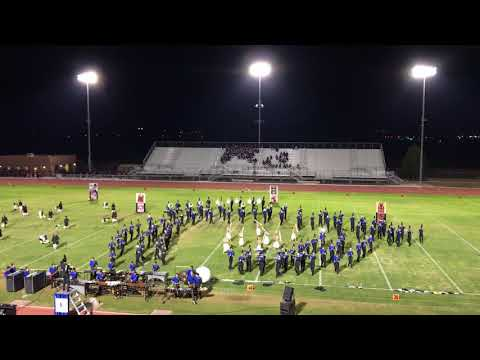 Cathedral City Marching Band at Shadow Hills High School