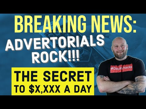 Advertorials - The Secret On How To Run Native Ads