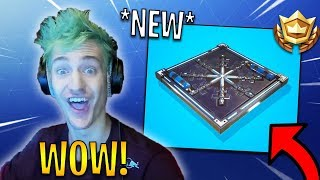 Ninja Reacts To *NEW* Freeze Trap Coming To Fortnite! | Fortnite Highlights & Funny Moments