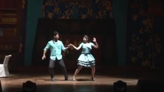 Senorita salsa performance at P wave AIIMS 2015