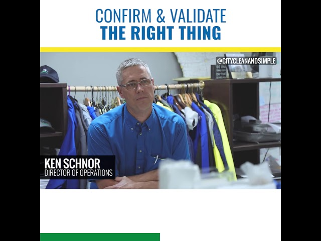 Confirm & Validate The Right Thing