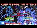Kumpulan Mentahan Tamplate Bingkai Line Art Itacih Uchiha Terkeren 2021 Wajib Coba !!!!