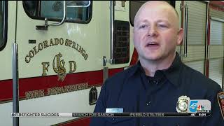 Colorado Springs Firefighters Actively Counter National Suicide Trend