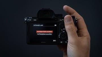 Bilder deiner Sony Kamera auf das Smartphone ziehen - einfach erklärt