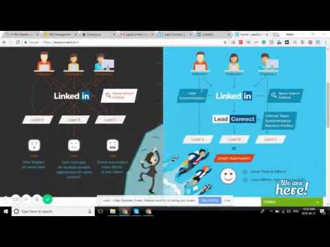 Best LinkedIn Automation Tool - Lead Connect