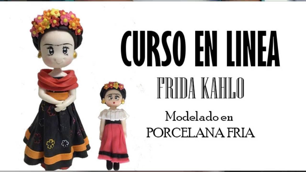 Imagenes De Frida Kahlo Animada Para Colorear: Frida Kahlo Porcelana Fría (Curso A La Venta)
