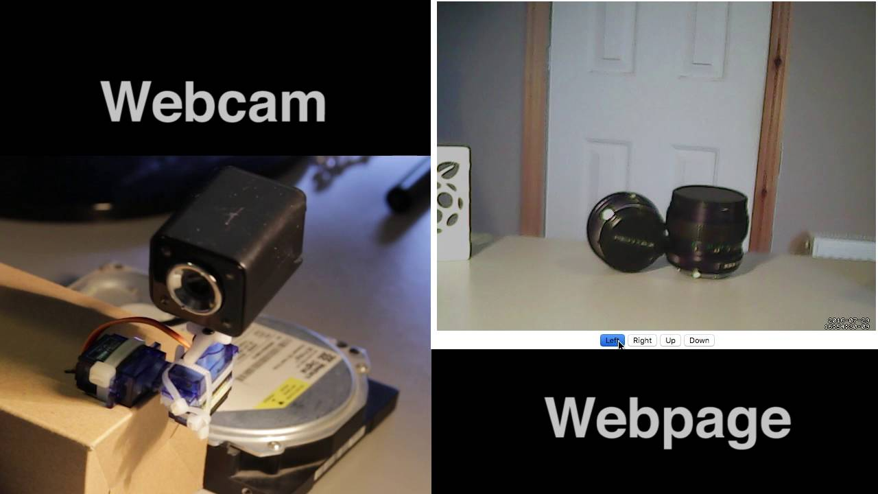 Build Your Own Pan-and-Tilt Security Camera with a Raspberry Pi and