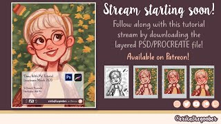 Draw With Me! | TUTORIAL LIVESTREAM 3/28/20