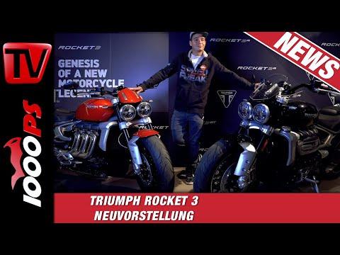 2019 Triumph Rocket 3 R & GT - Die neuen Strassenraketen aus Hinckley!