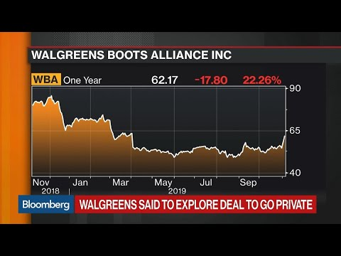 Walgreens Boots Said to Explore Potential Take-Private Deal