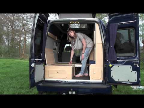 Demonstration of MiniCamper By JB Kampeerauto's