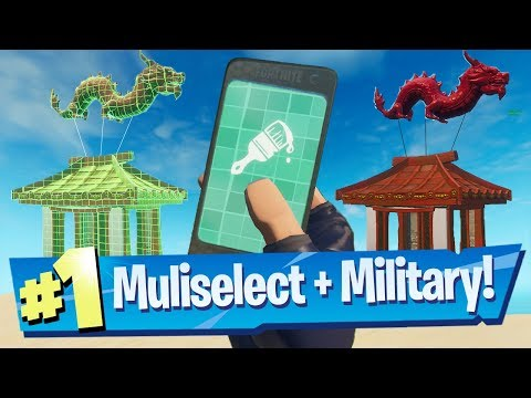 Fortnite Creative - Military Bases, Multiple Selecting + Capture Device!