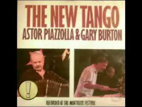 ASTOR PIAZZOLLA GARRY BURTON THE NEW TANGO