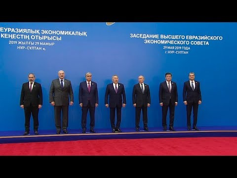 Лукашенко принимает участие в саммите ЕАЭС в Казахстане