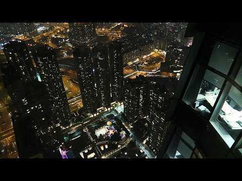 View from the tallest building in Hong Kong - Sky 100