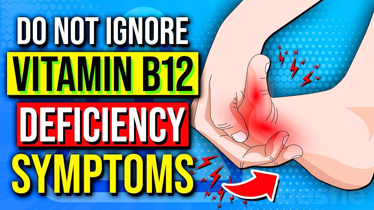Vitamin B12 Deficiency Symptoms That Should Never Be ... B12 Deficiency Symptoms
