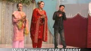 manra ye da kabul ( Rahim Shah & musarat Mommand )  pashto MUSAFAR NEW YEAR SHOW 2011