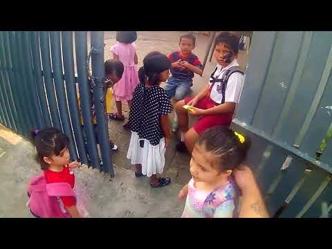 """(Helmet Cam) Bringing my kids to School  & Buying Chile for our """"Sambal Roa Grace"""" Business."""