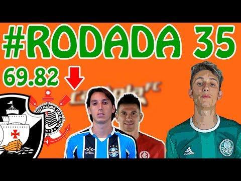 DICAS - Rodada #35 - REBAIXAMENTO TA ESTRALANDO!!