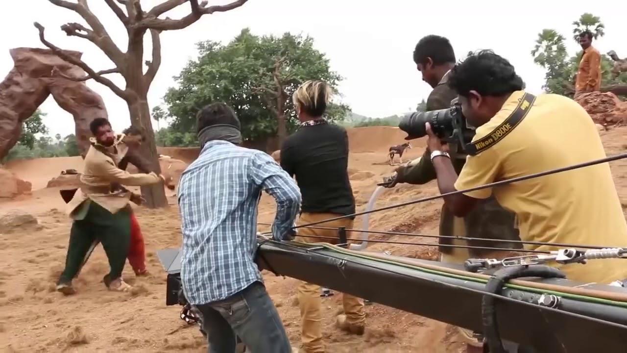 Download Bahubali 2 Movie Original Making Scene || 2017