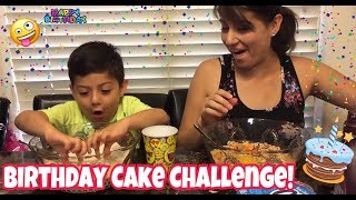 Birthday Cake Challenge with my Mom!!