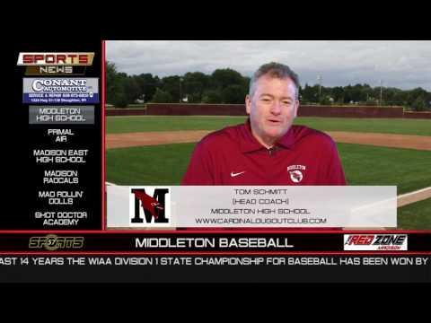 WI57 | The Sports News | Middleton Baseball |Tom Schmitt | February 12, 2017