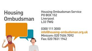 Home Ombudsman and complaints process