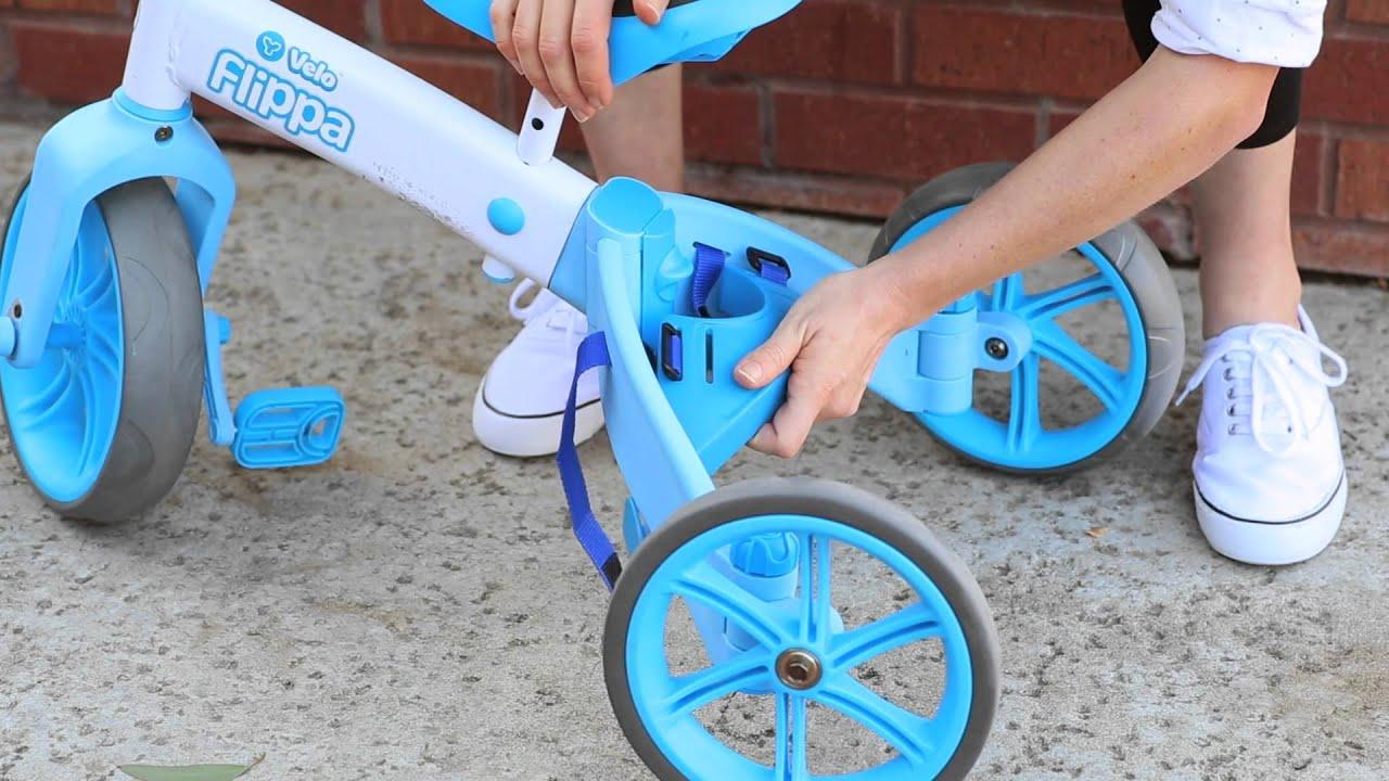5a6f5d793aa Yvolution Y Velo Flippa Balance Bike - How to Attach the Flippa Wedge in  Trike mode