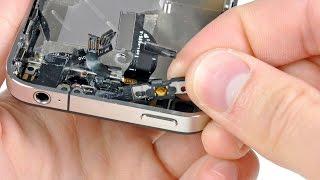 видео iPhone - нерабочая кнопка Home и Power