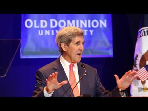 John Kerry's full speech at Old Dominion University