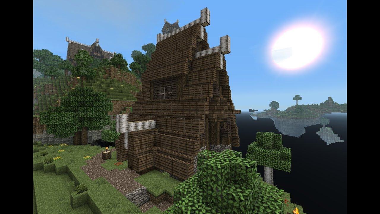 Minecraft Gundahar Tutorials Nordic Tavern