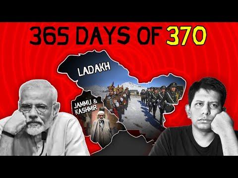 Kashmir: 1yr after Article 370 Abrogation - Time to Celebrate? | The Deshbhakt with Akash Banerjee
