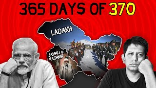 Kashmir: 1yr after Article 370 Abrogation - Time to Celebrate? | The Deshbhakt with Akash Banerjee